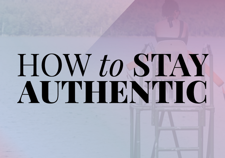 How to stay authentic...in general @shieldsisterswq