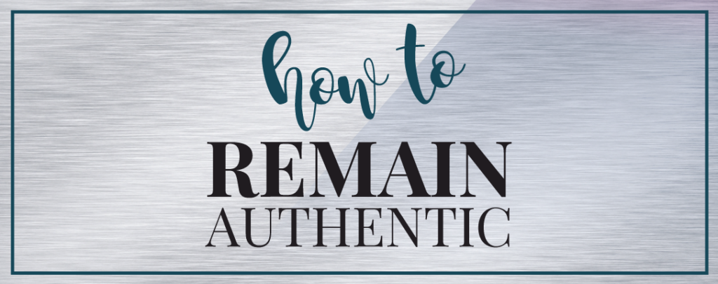 How to remain authentic in the ever changing world of expectations from @shieldsisterswq