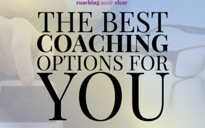 The Best Coaching Options For You