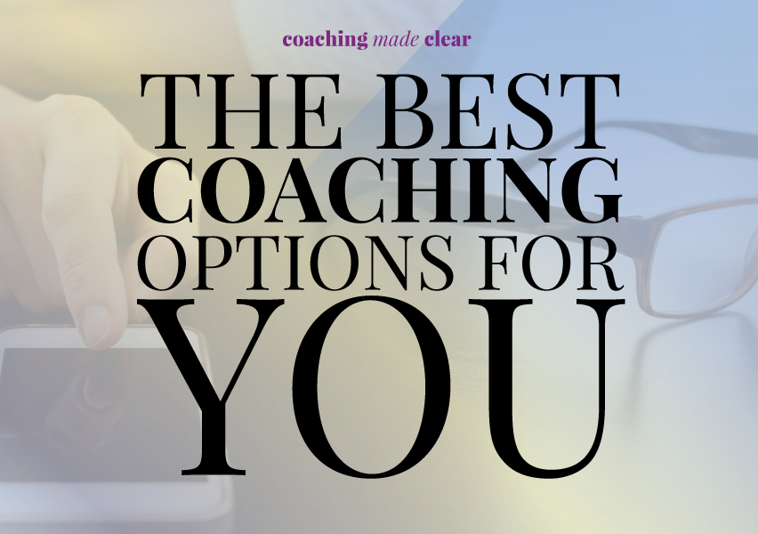 The BEST coaching options for you @shieldsisterswq
